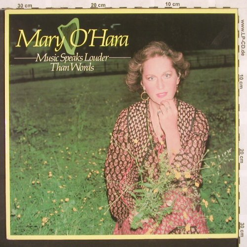 O'Hara,Mary: Music Speaks Louder Than Words, Chrys.(6307 635), D, 78 - LP - C272 - 6,00 Euro