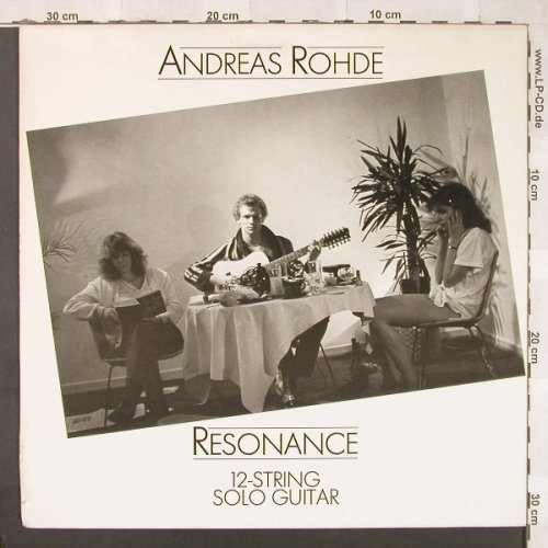 Rohde,Andreas: Resonance, Stockfisch(SF 5034), D, 1983 - LP - C5070 - 6,00 Euro