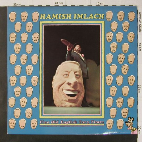 Imlach,Hamish: Fine Old English Tory Times, Xtra(1128), UK, 1972 - LP - C5475 - 9,00 Euro