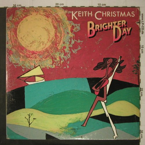 Christmas,Keith: Brighter Day, co, Manticore(MA6-503S1), US, 1975 - LP - C7252 - 14,00 Euro