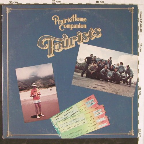 Prairie Home Companion: Tourists, PHC(808), US, 1983 - LP - E4527 - 7,50 Euro