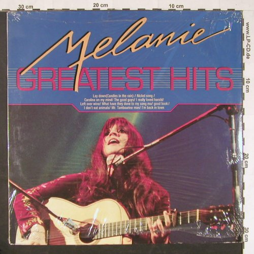 Melanie: Greatest Hits, FS-New, Masters(MA 001084), ,  - LP - E7 - 7,50 Euro