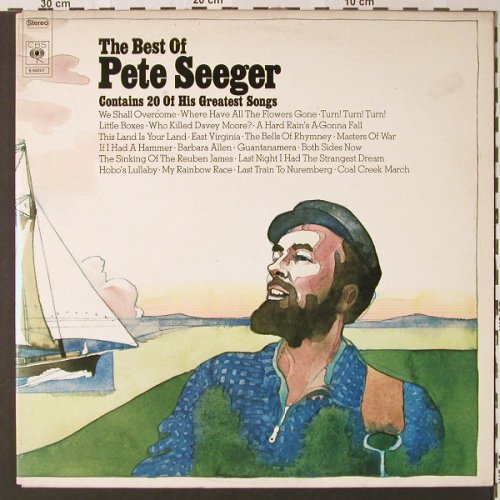 Seeger,Pete: The Best Of-20 Of His Greatest Song, CBS(S 68201), NL, 1972 - 2LP - E8861 - 6,00 Euro