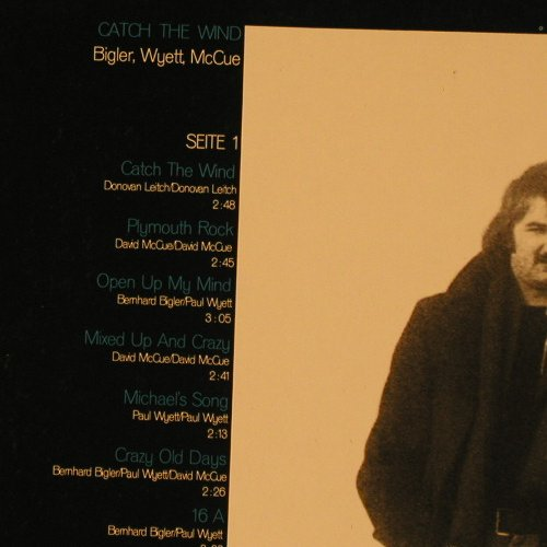 Bigler Wyett McCue: Catch the Wind, Foc,, vg+/vg+, Ariola(89 345 OT), D,  - LP - F3790 - 12,50 Euro