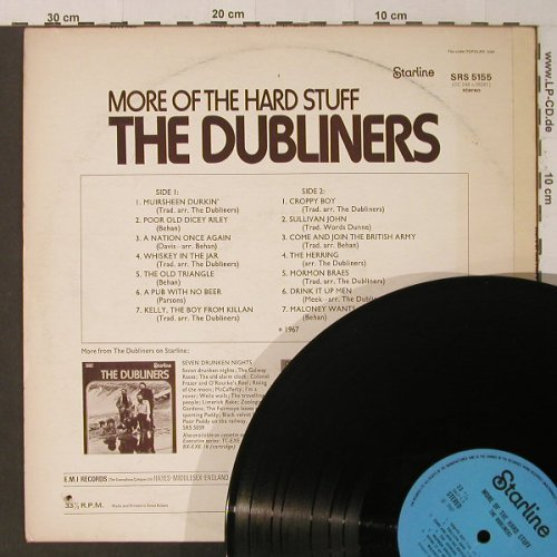 Dubliners: More Of The Hard Stuff, Ri, Co, Starline(SRS 5155), F, 1967 - LP - F4540 - 4,00 Euro