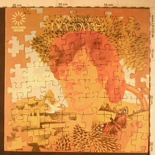 Donovan: Golden Hour Of, 20 Tr., PYE(GH 506), UK, Ri,  - LP - F7573 - 5,00 Euro