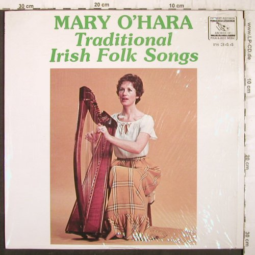 O'Hara,Mary: Traditional Irish Folk Songs, Everest Records(FS-344), US,  - LP - F9126 - 7,50 Euro