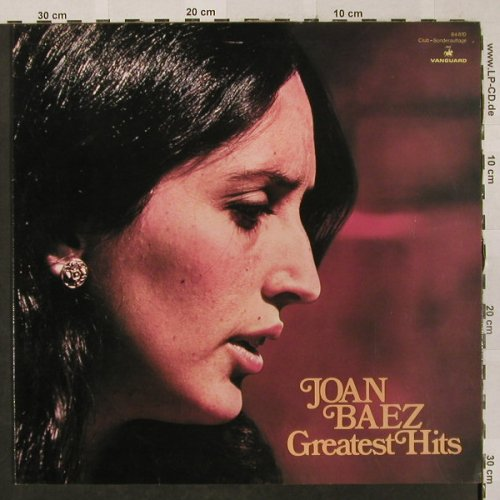 Baez,Joan: Greatest Hits, Club Sonderauflage, Vanguard(64 870), D,  - LP - H2595 - 6,00 Euro