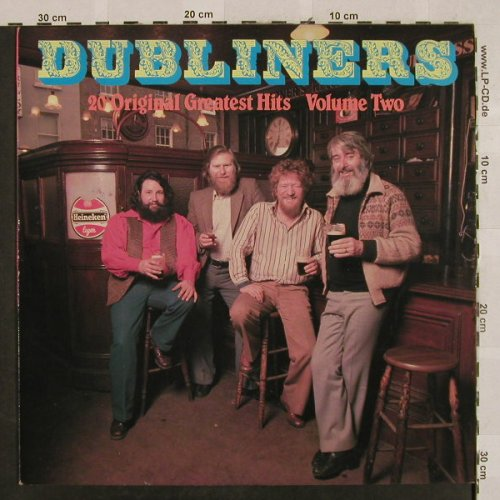 Dubliners: 20 Original Greatest Hits, Vol.2, Chyme(CHLP 1014), IRE, 1981 - LP - H2714 - 6,00 Euro