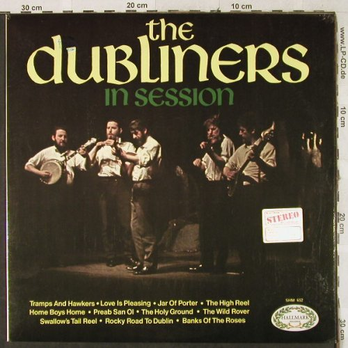 Dubliners: In Session, Hallmark(SHM 652), UK,  - LP - H3481 - 5,00 Euro