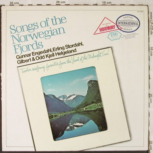 Engedahl,Gunnar/Stordahl/Helgeland: Songs of the Norwegian Fjords, Capitol Intern.(SP-10069), US,  - LP - H3676 - 6,00 Euro