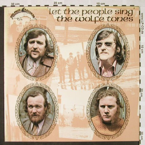 Wolfetones,The: Let the people sing, Foc, Dolphin(DOL 1004), IRE, 1972 - LP - H4148 - 7,50 Euro