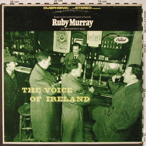 Murray,Ruby: The Voice of Ireland(Duophonic), Capitol(SP-1-10010), US,  - LP - H4310 - 7,50 Euro