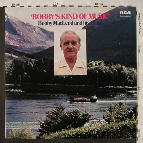 "MacLeod,Bobby  and his Band: ""Bobby's"" Kind of Music,(instrum.), RCA International(INTS), UK, 1979 - LP - H4638 - 6,00 Euro"
