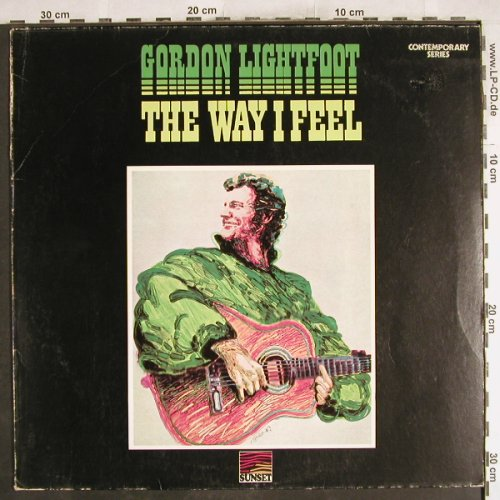 Lightfoot,Gordon: The Way I Feel, m-/vg+, Sunset(SLS 50231), D,  - LP - H7361 - 4,00 Euro