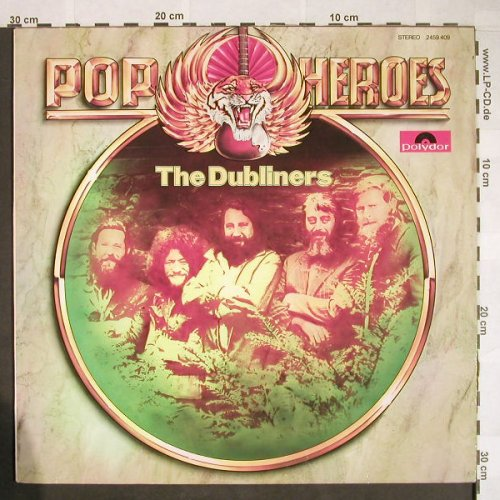 Dubliners: Pop Heroes, Polydor(2459 409), D,  - LP - H7 - 5,00 Euro