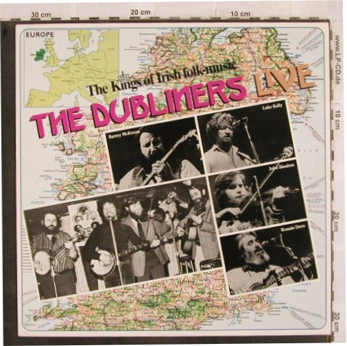 Dubliners: Live-The Kings of Irish Folk-Music, Sound(14 033 5), NL, 1987 - LP - H9930 - 5,50 Euro