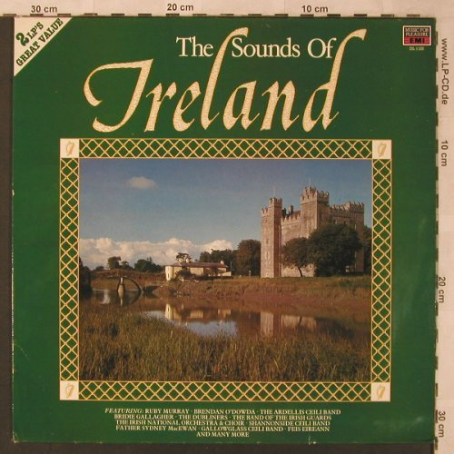 V.A.The Sound of Ireland: Ruby Murray...Feis Eireann, Music for Pleasure(DL 1125), UK, 1988 - 2LP - X2722 - 5,00 Euro