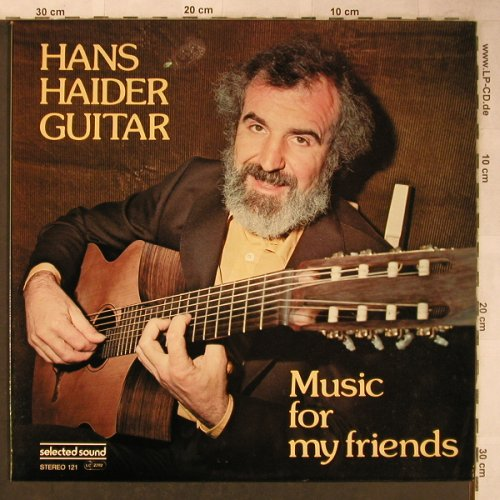Haider,Hans: Musik for friends, m-/vg+, SelectedS.(STEREO 121), D, 1979 - LP - X5450 - 6,00 Euro