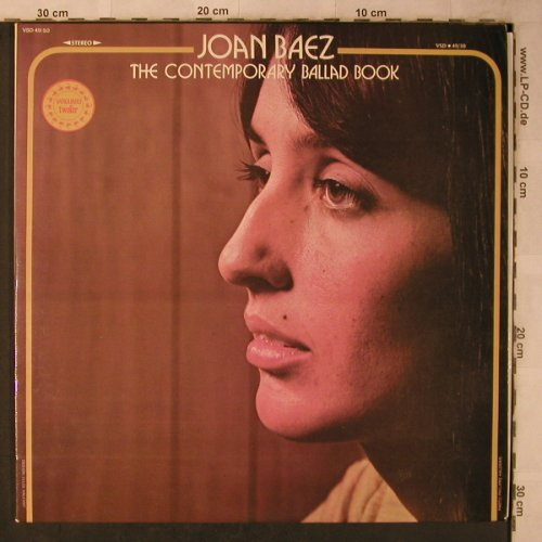 Baez,Joan: The Contemporary Ballad Book, Foc, Vanguard(VSD 49/50), F, 1974 - 2LP - X5682 - 7,50 Euro