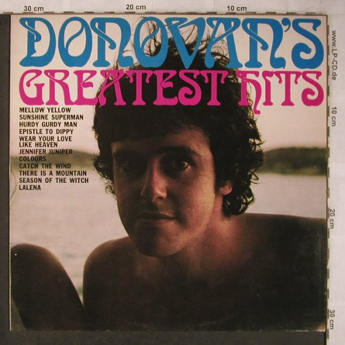 Donovan: Greatest Hits, Embassy(EMB 31 759), NL, Ri, 1969 - LP - X5729 - 5,00 Euro
