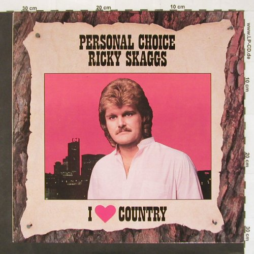 Skaggs,Ricky: Personal Choice, Epic(), NL, 87 - LP - A6262 - 6,00 Euro