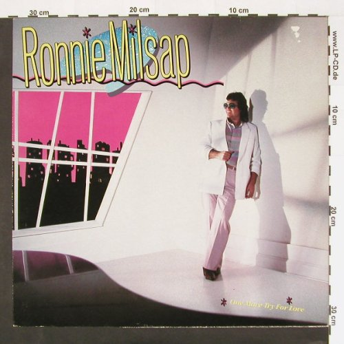 Milsap,Ronnie: One more try for love, m-/vg+, RCA(PL85016), D, 84 - LP - A6417 - 2,50 Euro