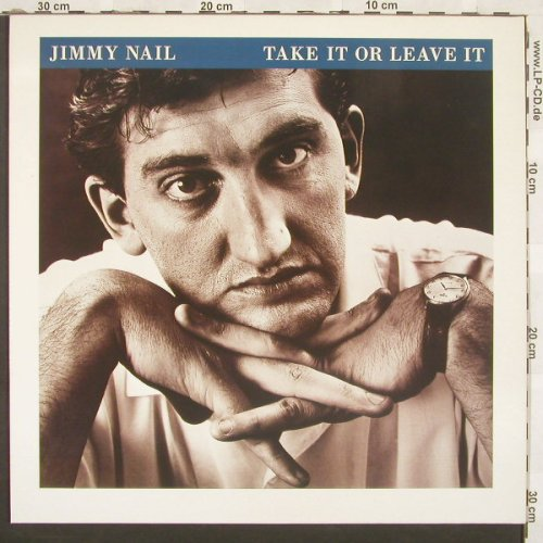 Nail,Jimmy: Take It Or Leave It, Virgin(208 099-630), D, 1986 - LP - A7265 - 5,00 Euro