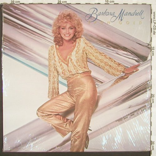 Mandrell,Barbara: Spun Gold, FS-New, MCA(MCA-5377), US, 83 - LP - A7286 - 9,00 Euro