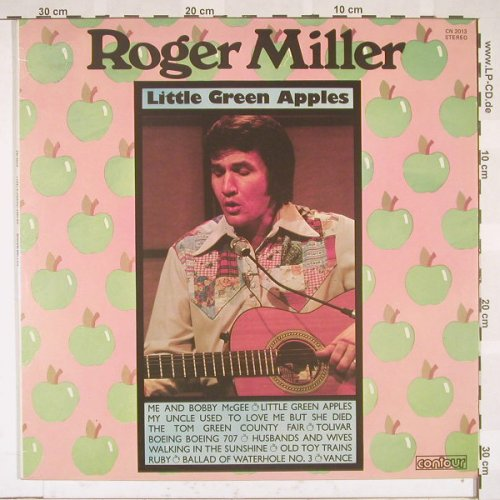 Miller,Roger: Little Green Apples, Contour(CN 2013), UK,  - LP - B5294 - 6,00 Euro