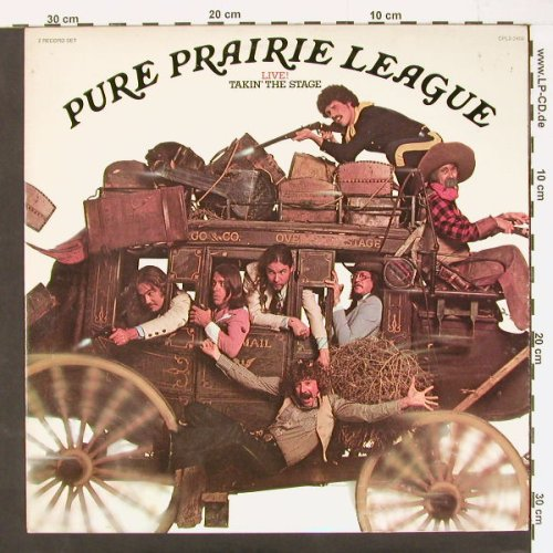 Pure Prairie League: Live - Takin' the Stage, Foc, RCA(CPL2-2404), US, 77 - 2LP - C1050 - 12,50 Euro