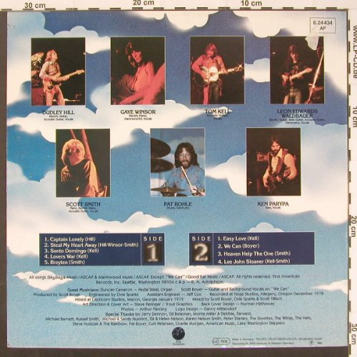 Skyboys: Same, First American(6.24434), D, 1979 - LP - C1739 - 5,00 Euro