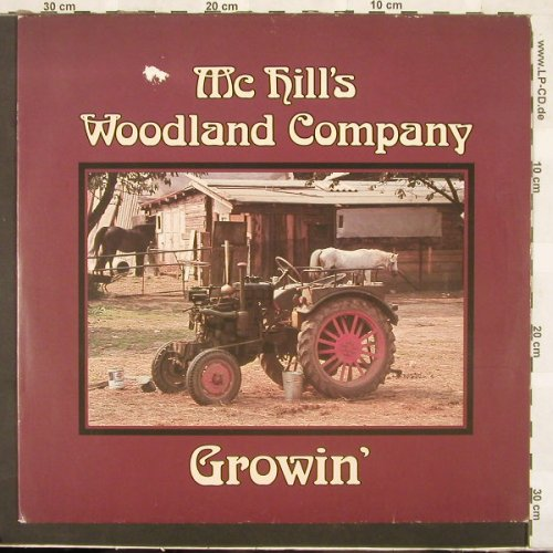 Mc Hill's Woodland Company: Growin', m-/vg+, Western Promotion(WP 1001), D, 82 - LP - C2722 - 5,00 Euro