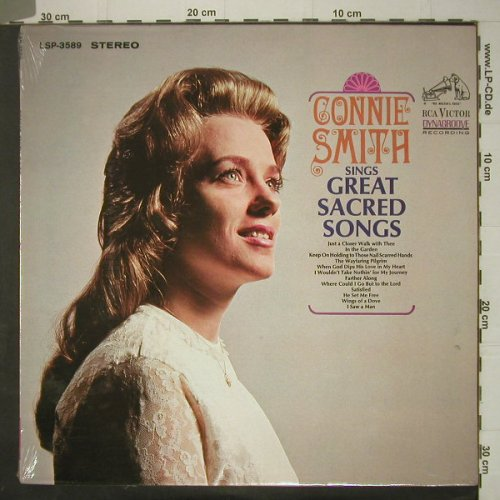 Smith,Connie: Sings Sacred Songs, FS-New, RCA Victor(LSP-3589), US, 66 - LP - C6251 - 14,00 Euro