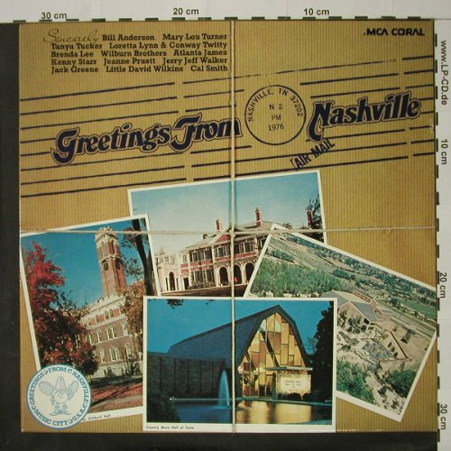 V.A.Greetings from Nashville: 16 Tr., MCA(6.22468 AG), D, 1976 - LP - C8323 - 5,00 Euro