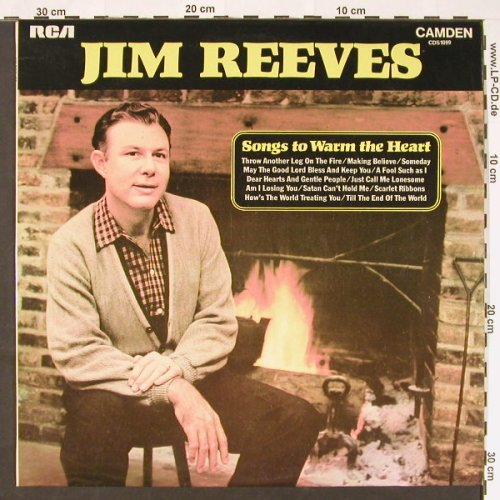 Reeves,Jim: Songs To Warm The Heart, RCA(CDS 1099), F/UK, 1972 - LP - C9106 - 5,00 Euro