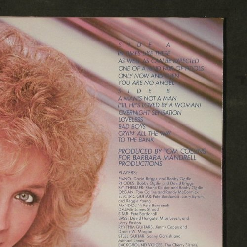 Mandrell,Barbara: Spun Gold, co, MCA(MCA-5377), US, 1983 - LP - E1046 - 5,50 Euro