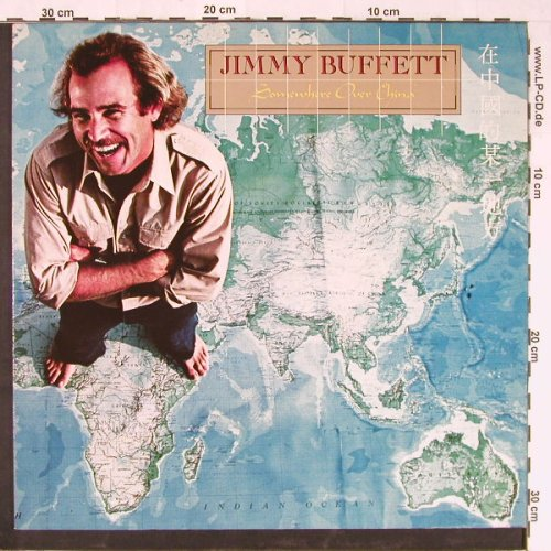 Buffett,Jimmy: Somewhere Over China, MCA(204 396-320), D, 1981 - LP - E1587 - 5,00 Euro