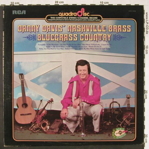 Davis,Danny - Nashville Brass: Bluegrass Country, Quadra Disc(APD1-0565), US, 1974 - LP - E162 - 5,00 Euro