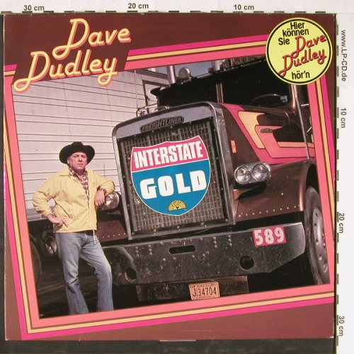Dudley,Dave: Interstate Gold, Sun/Bellaphon(26 13001), D, 1980 - LP - E2328 - 5,00 Euro