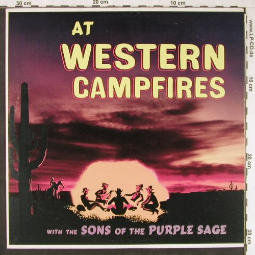 Sons Of The Purple Sage: At Western Campfires, Somerset(P-11900), US,  - LP - E2886 - 5,00 Euro