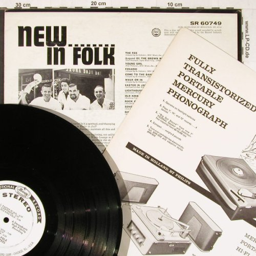 Folksters: New...In Folk, Promo, Mercury(SR 60749), US,  - LP - E3675 - 14,00 Euro