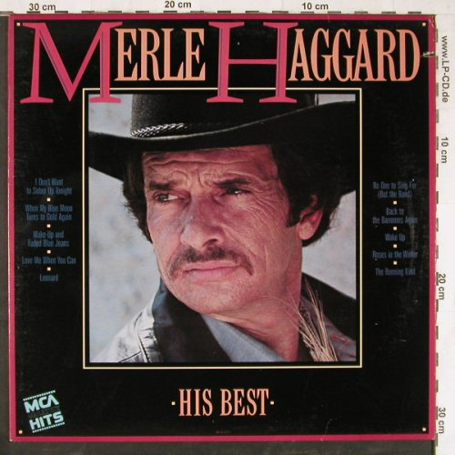 Haggard,Merle: His Best,co, MCA(MCA-5573), US, 1985 - LP - E4218 - 5,00 Euro