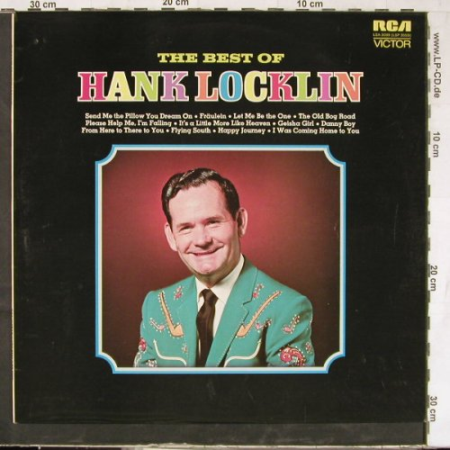 Locklin,Hank: The Best Of, RCA(LSA 3099), D, 1972 - LP - E4760 - 6,50 Euro