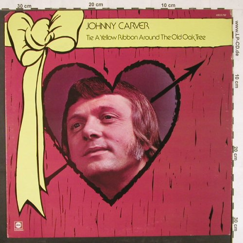Carver,Johnny: Tie A Yellow Ribbon Around t.old.., ABC(X-792), US, 1973 - LP - E532 - 5,00 Euro