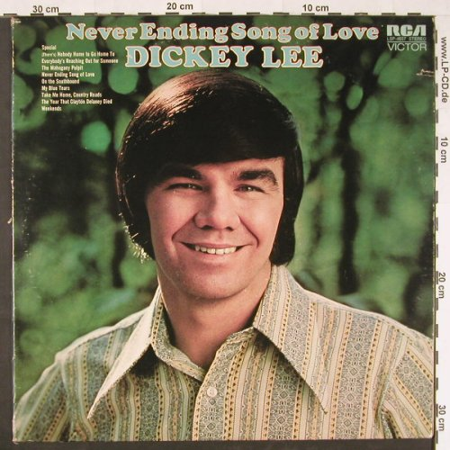 Lee,Dickey: Never Ending Song Of Love, co, RCA(LSP-4637), US, 1971 - LP - E732 - 5,00 Euro