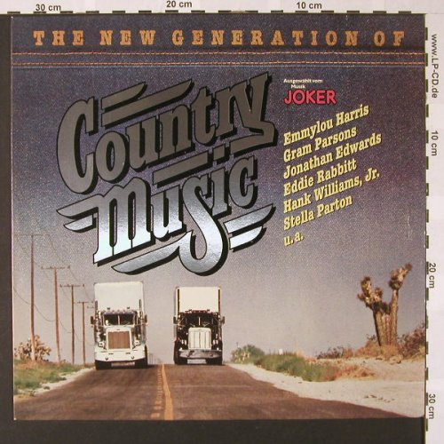 V.A.The New Generation of: Country Music, WEA(58 009), D, 1977 - LP - E7352 - 4,00 Euro