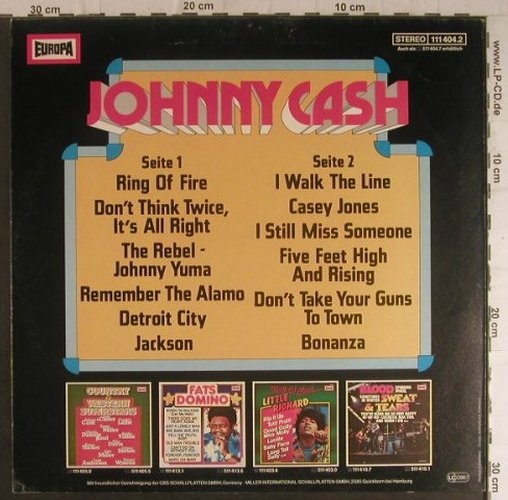 Cash,Johnny: Same, Europa(111 404.2), D, 1979 - LP - F5951 - 6,00 Euro