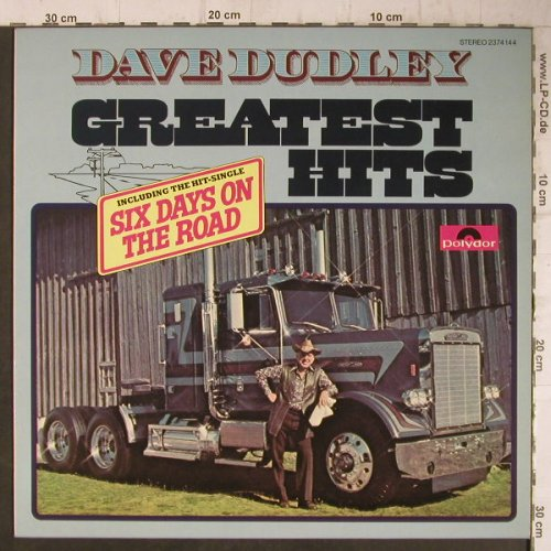 Dudley,Dave: Greatest Hits, Polydor(2374 144), D, 1977 - LP - F7617 - 5,50 Euro