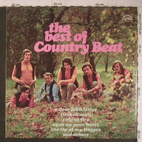 Country Beat: The Best of, Supraphon(1 13 1139), CZ, 1972 - LP - F7627 - 9,00 Euro